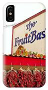 Fruit Basket Stand IPhone Case