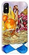 Fruit Basket Still Life 2 Painting IPhone Case