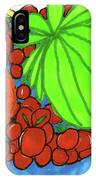 Fruit In A Blue Bowl IPhone Case