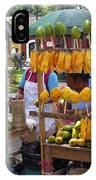 Fruit Stand Antigua  Guatemala IPhone Case