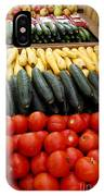 Fruits And Vegetables On Display 1 IPhone Case