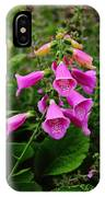 Foxglove Lure IPhone Case