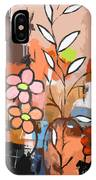 Fuddled Floral IPhone Case
