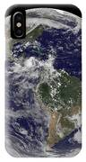 Full Earth Showing North America IPhone Case