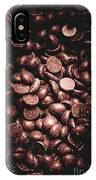 Full Frame Background Of Chocolate Chips IPhone X Case
