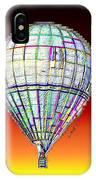 Full Moon Balloon IPhone Case