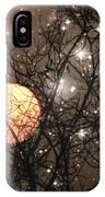Full Moon Starry Night IPhone Case