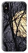 Full Yellow Moon IPhone Case