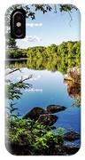 Fuller Pond IPhone Case