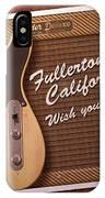 Fullerton Postcard IPhone Case