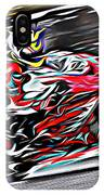 Fullspeed On Two Wheels 6 IPhone Case