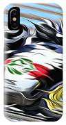 Fullspeed On Two Wheels 7 IPhone Case