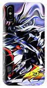 Fullspeed On Two Wheels 9 IPhone Case