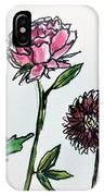 Four Flowers  IPhone Case