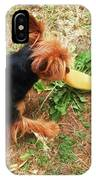 Fun On The Grass IPhone Case