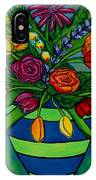 Funky Town Bouquet IPhone Case