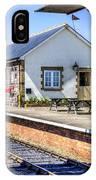 Furnace Sidings Railway Station IPhone Case