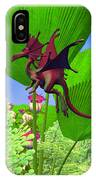 Fury Flying Dragon IPhone Case