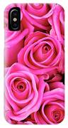 Fuschia Colored Roses IPhone Case