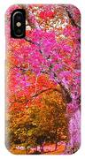 Fuschia Tree IPhone Case