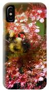 Fuzzy Buzzy IPhone Case