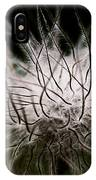 Fuzzy Flower Seedhead IPhone Case