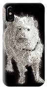 Fuzzy Molly IPhone Case