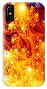 Galactic Lights IPhone Case