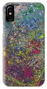 Galactic Spring_by Aatmica IPhone Case