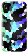 Galaxy In Time Abstract Design IPhone Case