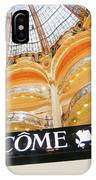 Galeries Lafayette Inside 2 Art IPhone Case
