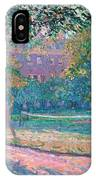 Game Of Tennis IPhone Case by Spencer Frederick Gore