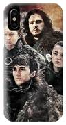 Game Of Thrones.the Last Of Stark. IPhone Case