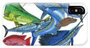 Gamefish Collage IPhone Case