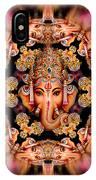 Ganesh Sphere Mandala IPhone Case