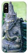 Ganesha Ganesa Ganapati Vinayaka Pillaiyar Hindu Pantheon IPhone Case