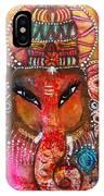 Ganesha IPhone Case by Prerna Poojara