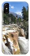 Ganges In Gangotri Close To Its Source IPhone Case