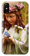 Garden Angel IPhone Case