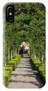 Garden Arbor Path IPhone Case