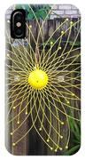 Yellow Sunflower Garden Art IPhone Case