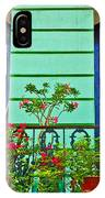 Garden Balcony IPhone Case