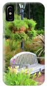 Garden Benches 5 IPhone Case