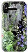 Garden Birdhouse IPhone Case