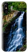 Garden Creek Falls IPhone Case