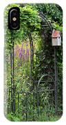 Garden Entrance IPhone Case