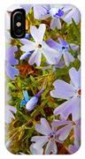 Flower Photography- Floral Art- Digital-floral Fireworks IPhone Case