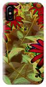 Garden Fireworks IPhone Case