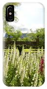 Garden Flowers At The Governor's Palace IPhone Case