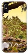 Garden For The Ones Of Flight - Deep Cut Gardens IPhone Case